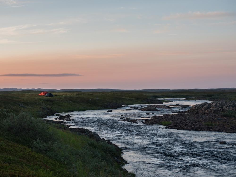Kalastusvaellus Norjan Lapissa, Finnmarkissa