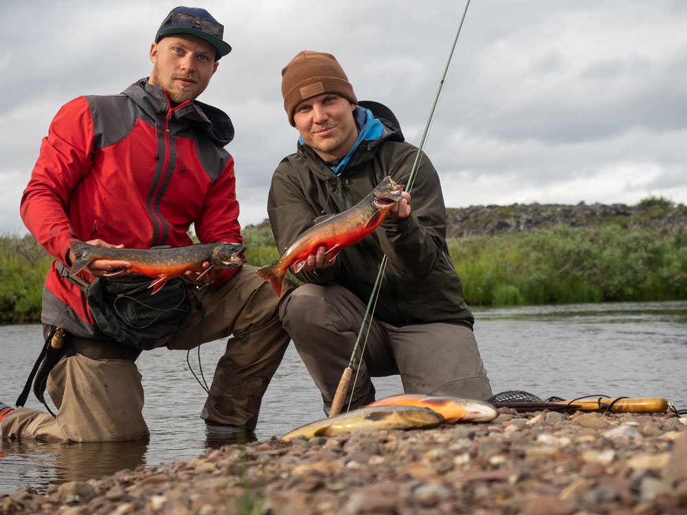 Raudun kalastusta Finnmarkissa Norjan Lapissa