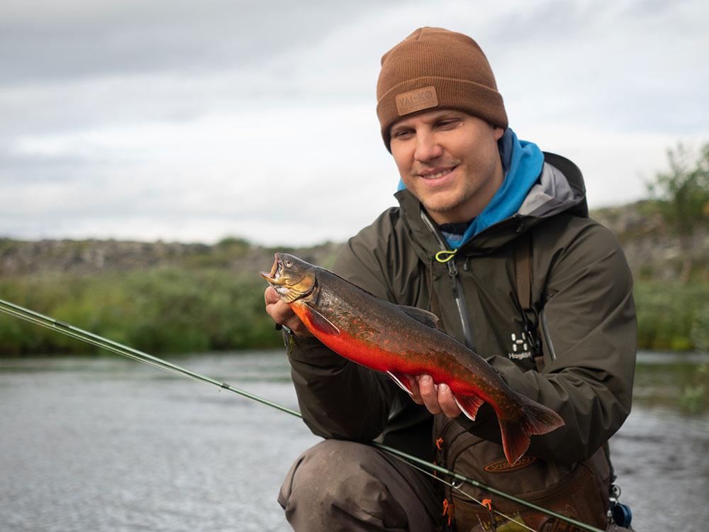 Rautu perholla Finnmarkista